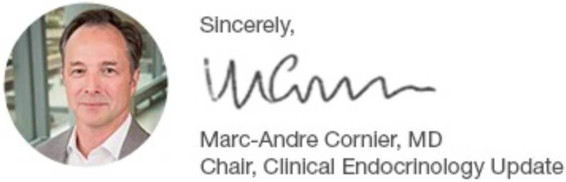 Marc-Andre Cornier, MD